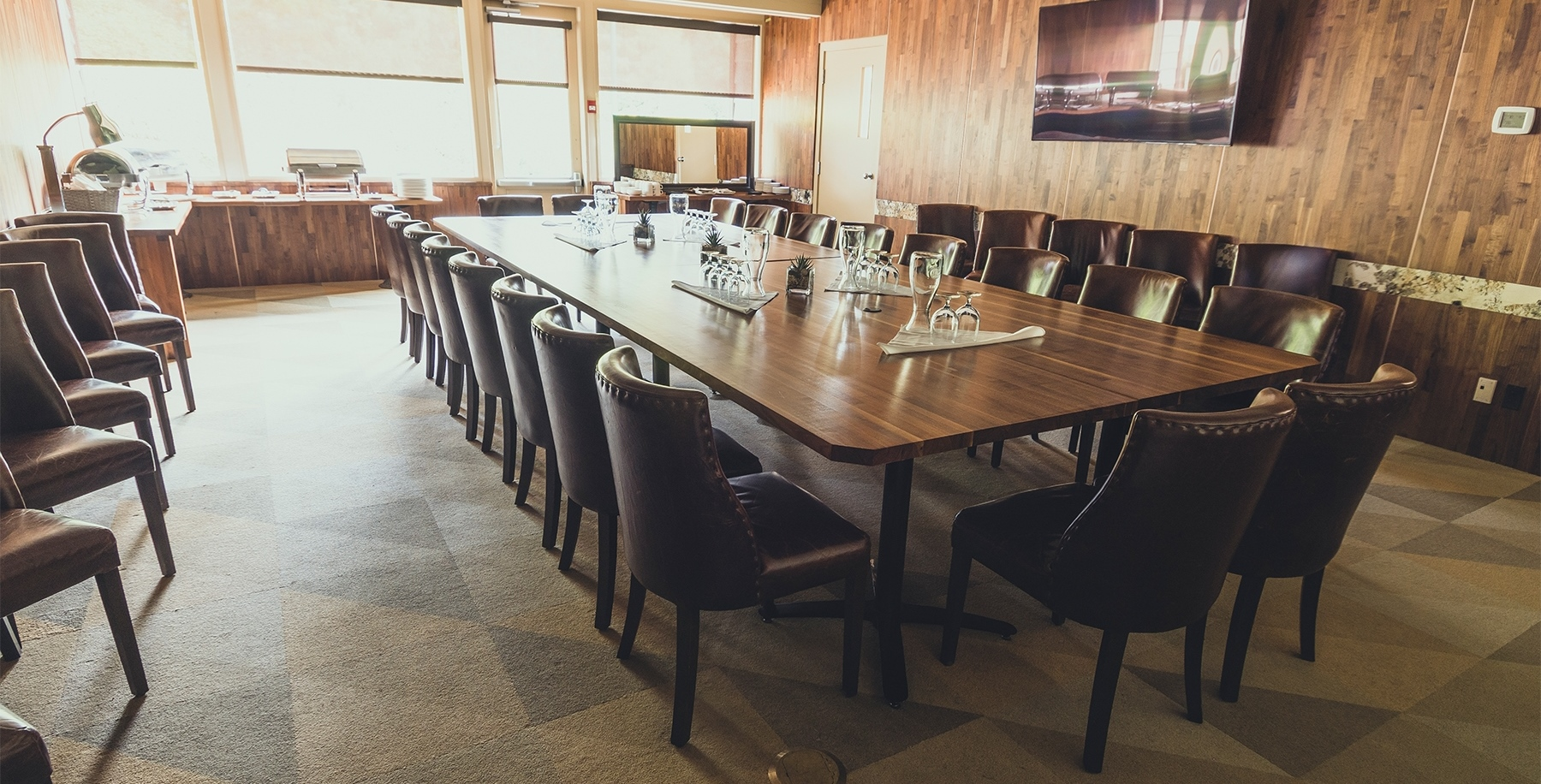 Meeting Room at the Burnaby Mountain Clubhouse