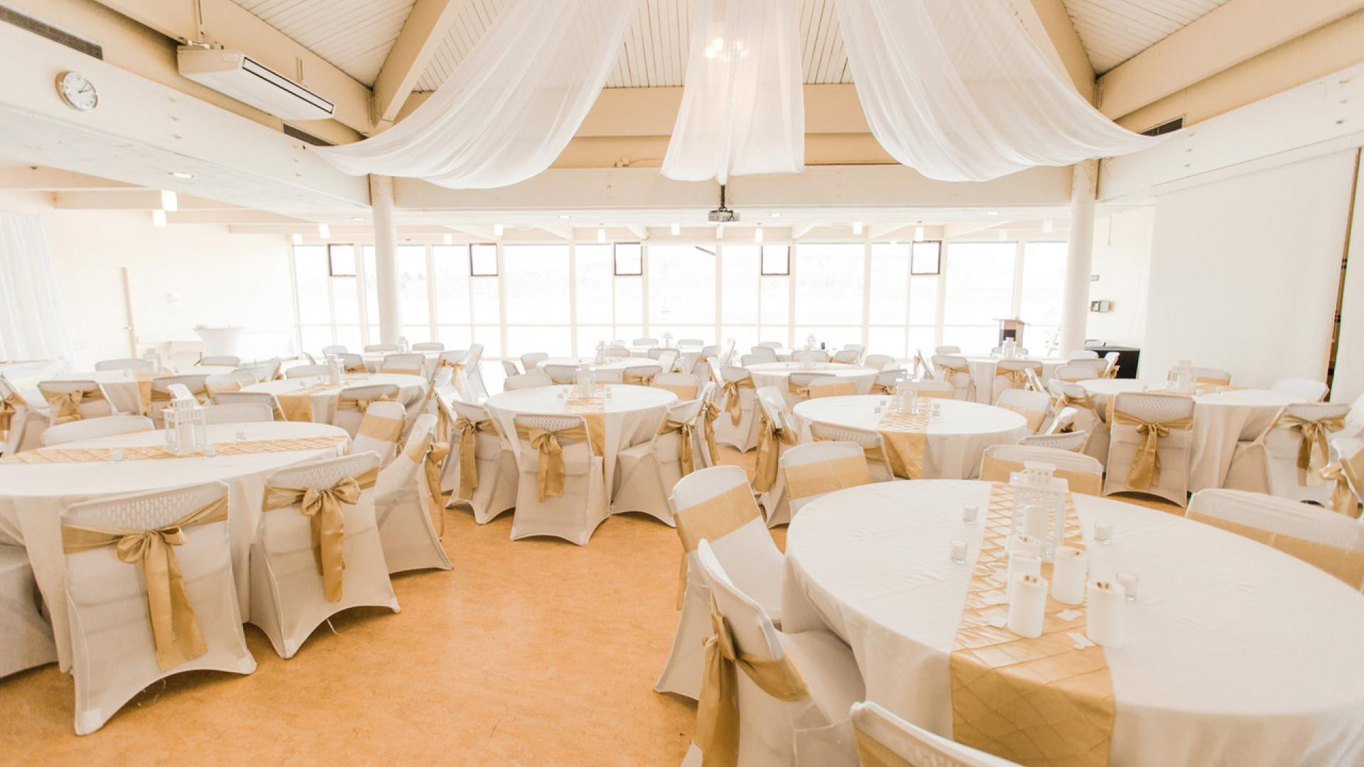 Testimonials Image of beautiful inside of the venue