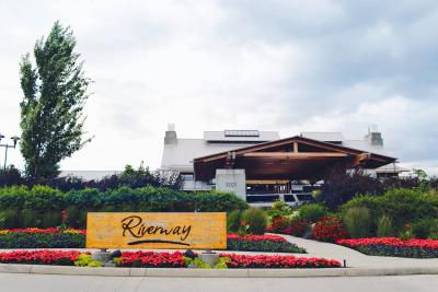 Entrance to Riverway Clubhouse