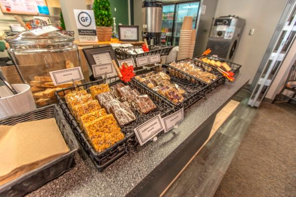 City Hall Café food display