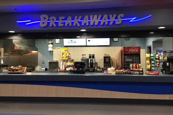 Breakaways Concession Stand